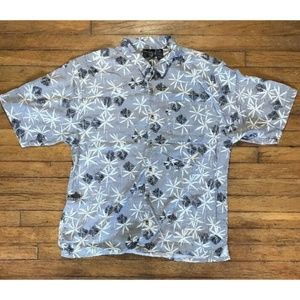 Ocean Pacific OP Button Front Shirt Hawaiian